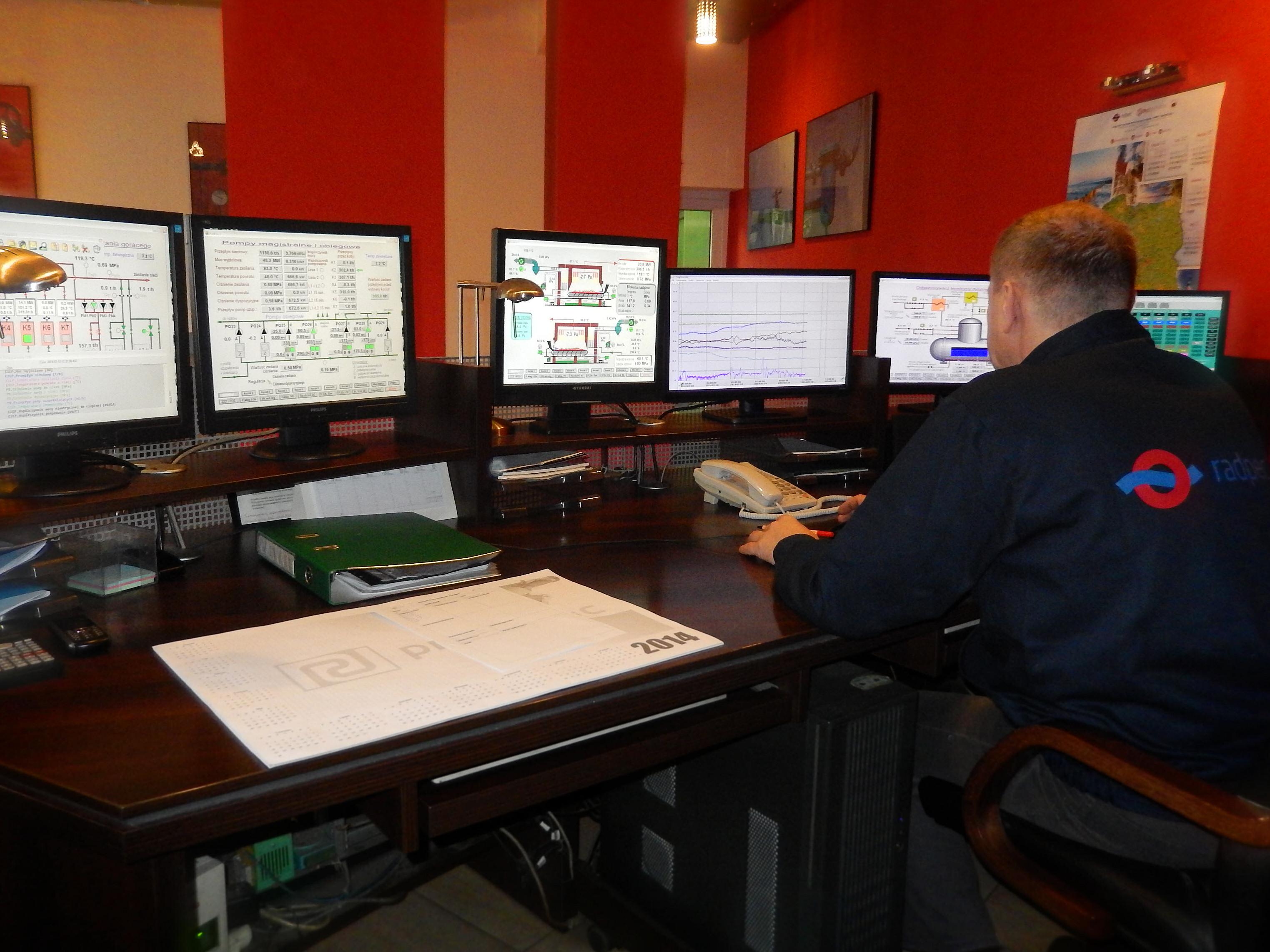 Sterowanie i monitoring Radpec