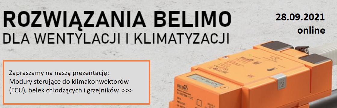 Konferencja BELIMO wentylacja, klimatyzacja
