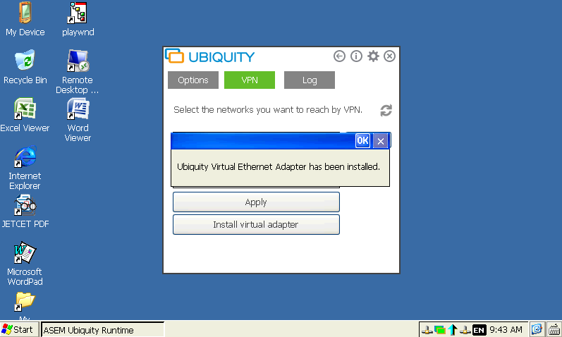 asem-ubiquity-virtual-ethernet-adapter-has-been-installed