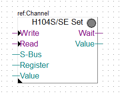 Blok funkcyjny H104S/SE Set